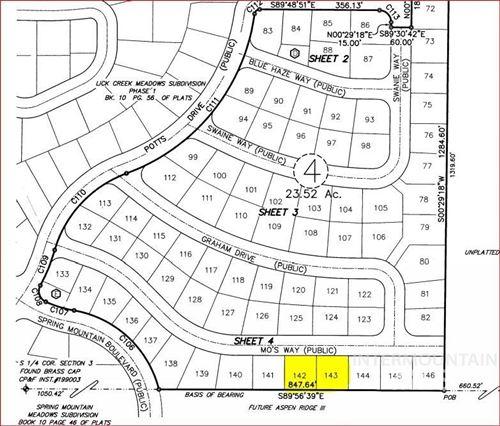 Photo of TBD Mo's Way Lot 143, McCall, ID 83638 (MLS # 98778656)