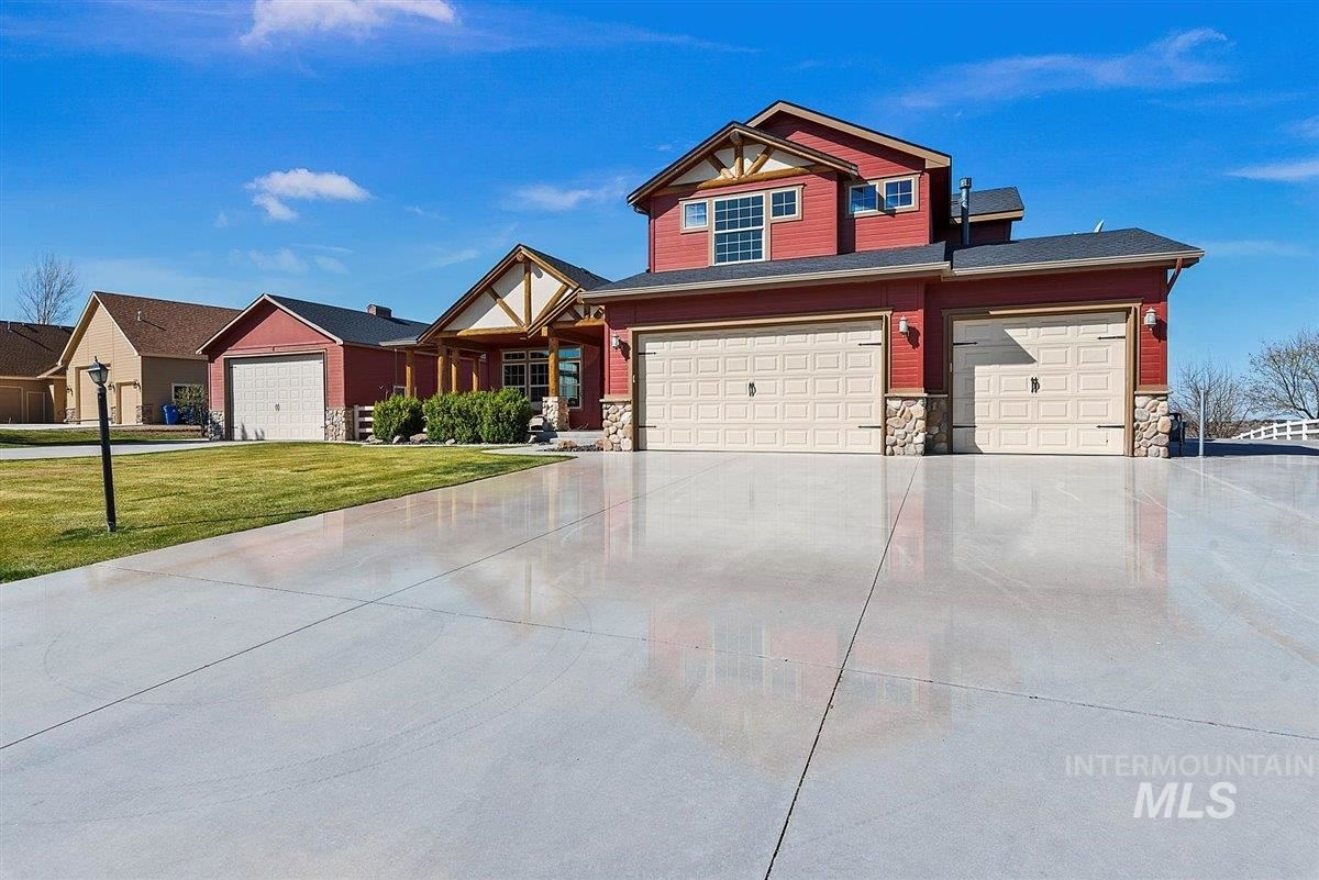 Photo of 5233 N High Prairie Place, Star, ID 83669 (MLS # 98799695)