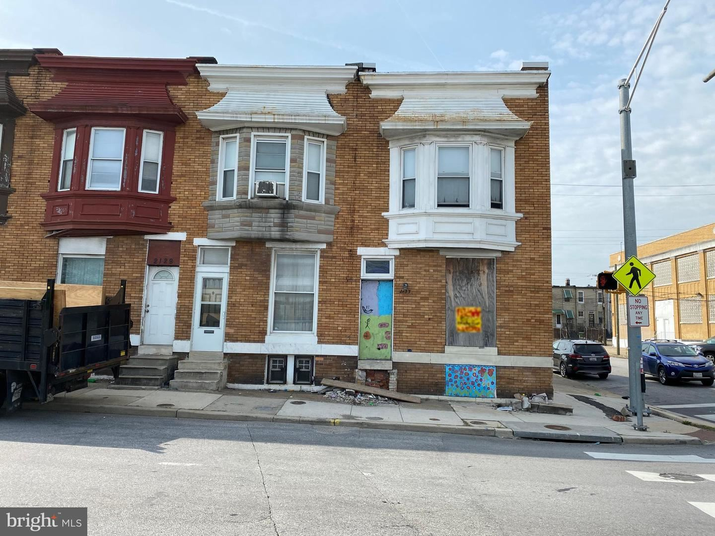 2133 W MULBERRY ST, Baltimore, MD 21223 - MLS#: MDBA550028
