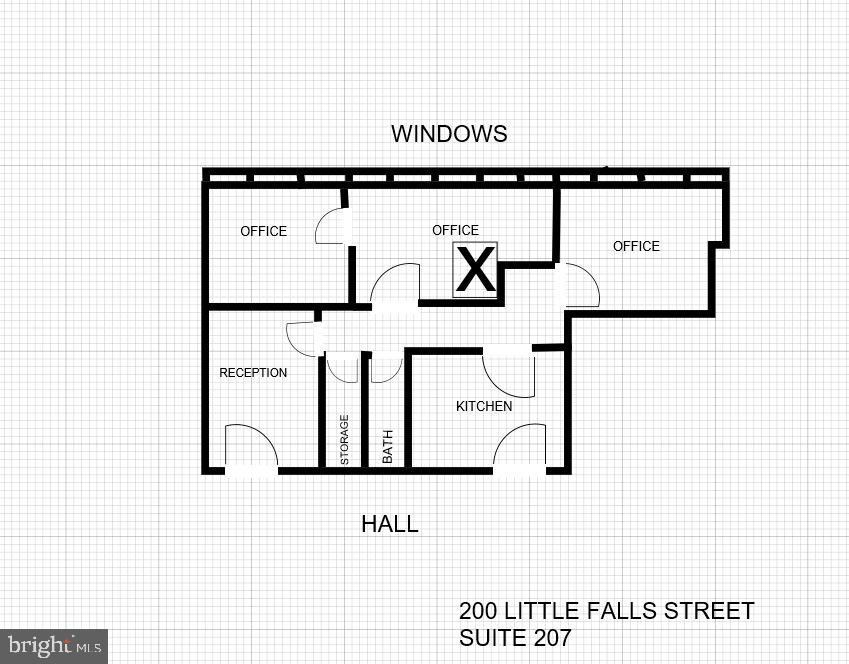 Photo of 200 LITTLE FALLS STREET #207, FALLS CHURCH, VA 22046 (MLS # VAFX1209034)