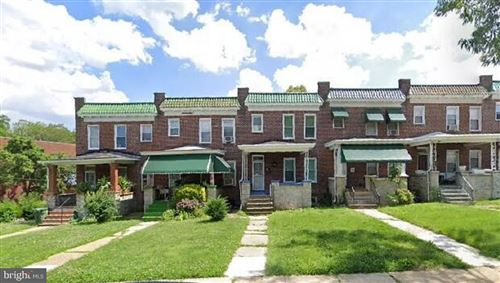 Photo of 3105 NORMOUNT AVE, BALTIMORE, MD 21216 (MLS # MDBA506040)