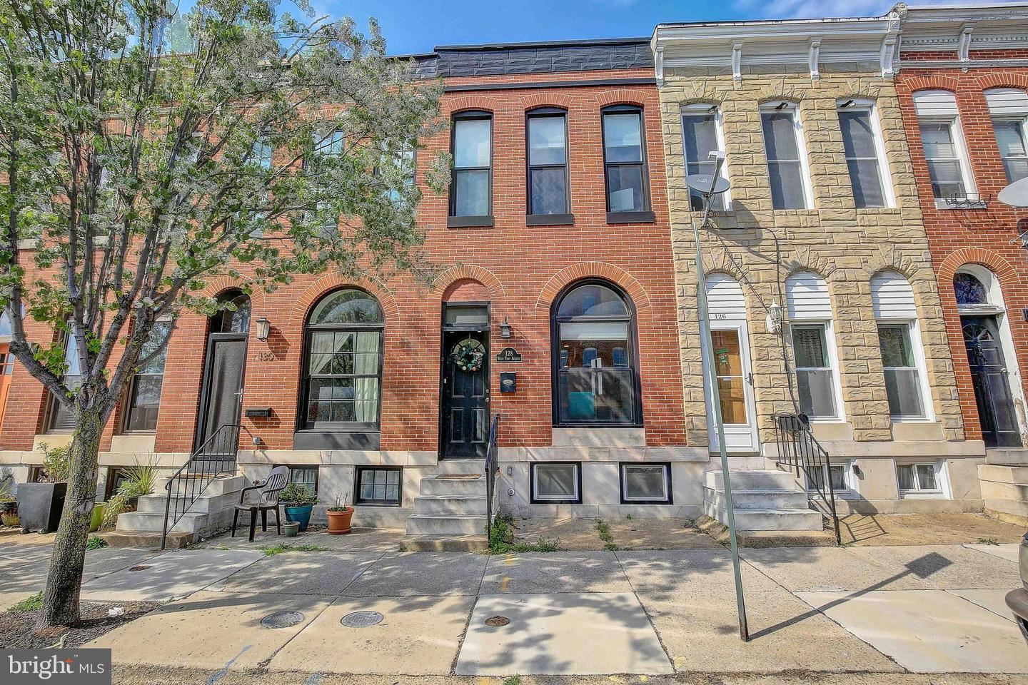 128 W FORT AVE, Baltimore, MD 21230 - MLS#: MDBA545052