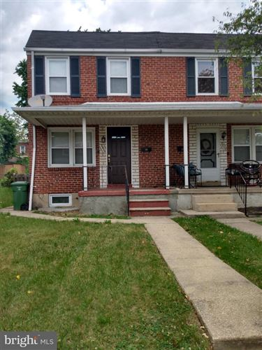 Photo for 3804 EVERGREEN AVE, BALTIMORE, MD 21206 (MLS # MDBA494060)