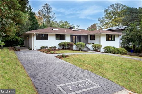 Photo of 7704 ROCTON AVE, CHEVY CHASE, MD 20815 (MLS # MDMC732068)