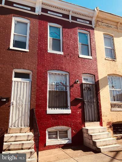 1815 N MONTFORD AVE, Baltimore, MD 21213 - MLS#: MDBA552068