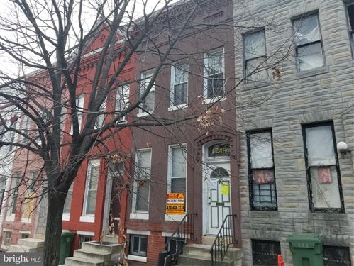 Photo of 1214 MYRTLE AVE, BALTIMORE, MD 21217 (MLS # MDBA494080)