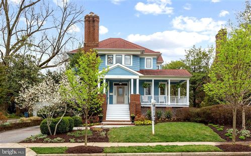 Photo of 3804 TAYLOR ST, CHEVY CHASE, MD 20815 (MLS # MDMC748090)