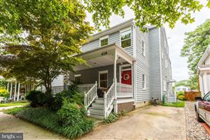 Photo of 416 SECOND ST, ANNAPOLIS, MD 21403 (MLS # MDAA407092)
