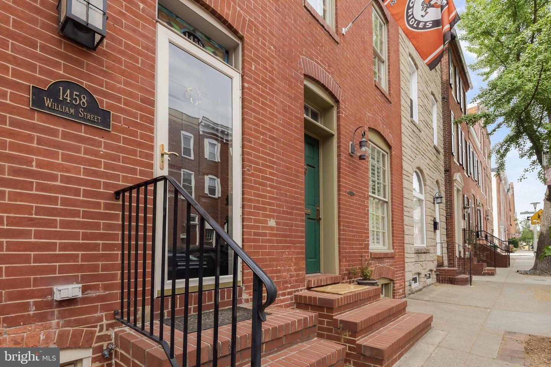1458 WILLIAM ST, Baltimore, MD 21230 - MLS#: MDBA550102