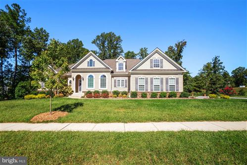 Photo of 185 OAKLAND HALL ROAD, PRINCE FREDERICK, MD 20678 (MLS # MDCA2002104)