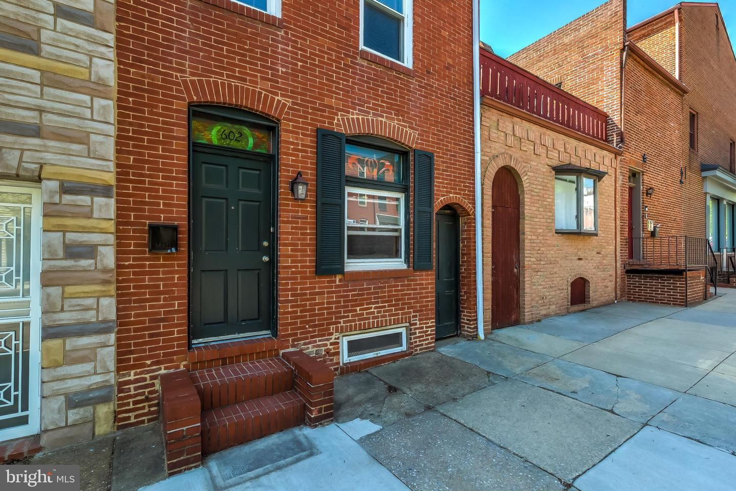 602 S PATTERSON PARK AVE, Baltimore, MD 21231 - MLS#: MDBA549108