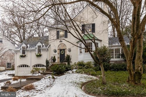 Photo of 3302 WOODBINE ST, CHEVY CHASE, MD 20815 (MLS # MDMC743110)