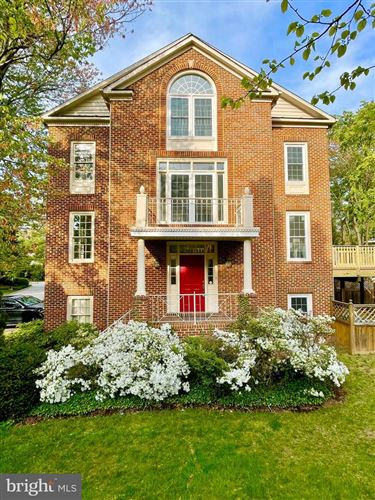 Photo of 5451 WHITLEY PARK TER #TH-5, BETHESDA, MD 20814 (MLS # MDMC755110)
