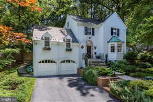 Photo of 3302 WOODBINE ST, CHEVY CHASE, MD 20815 (MLS # MDMC622116)