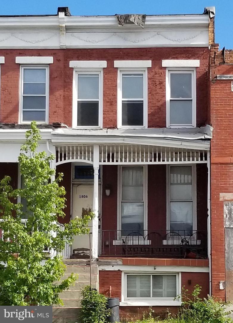 1806 E NORTH AVE, Baltimore, MD 21213 - MLS#: MDBA549120