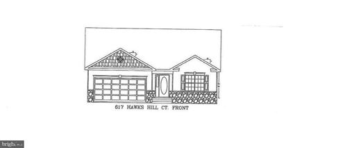 Photo of 617 HAWK HILL DR, PRINCE FREDERICK, MD 20678 (MLS # MDCA177144)