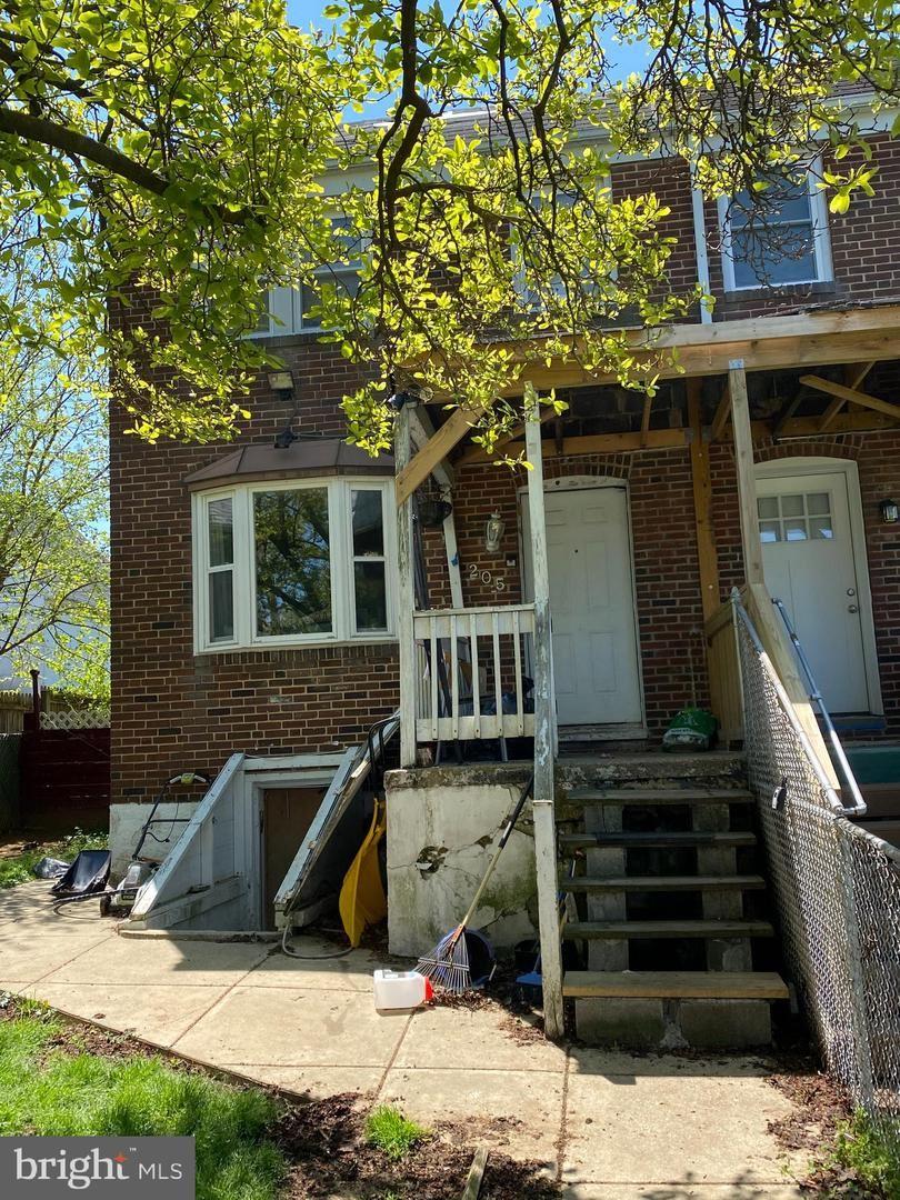 205 W EDGEVALE RD, Baltimore, MD 21225 - MLS#: MDAA466150