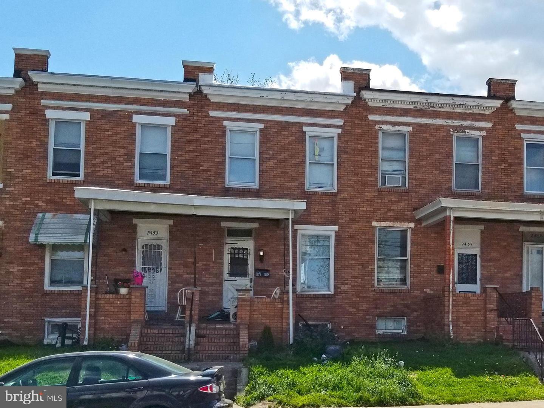 2455 WASHINGTON BLVD, Baltimore, MD 21230 - MLS#: MDBA548152