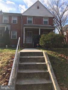 Photo of 1549 WINSTON AVE, BALTIMORE, MD 21239 (MLS # MDBA303156)