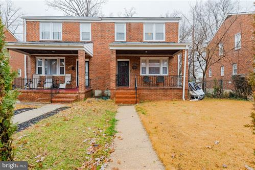 Photo of 3316 LUDGATE RD, BALTIMORE, MD 21215 (MLS # MDBA494160)