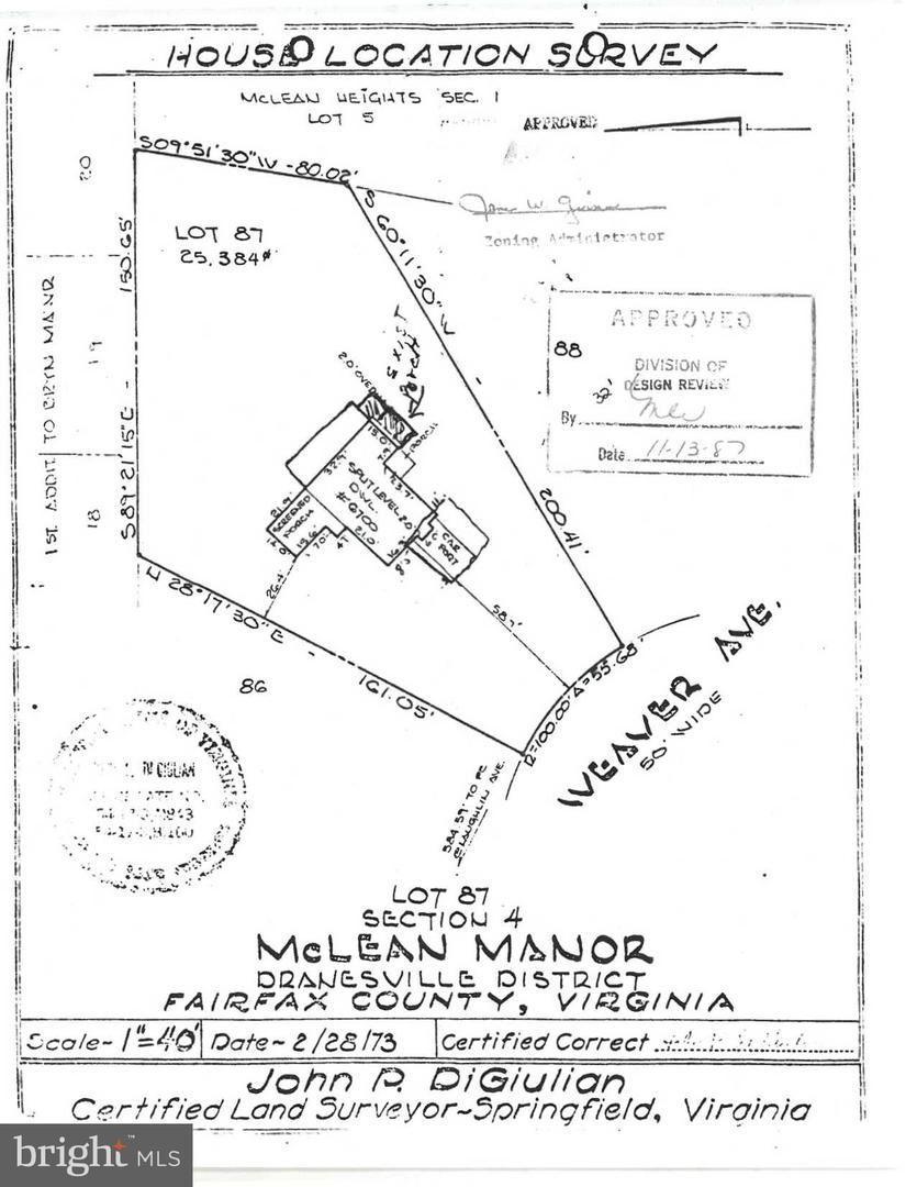 Photo of 6700 WEAVER AVE, MCLEAN, VA 22101 (MLS # VAFX1156164)