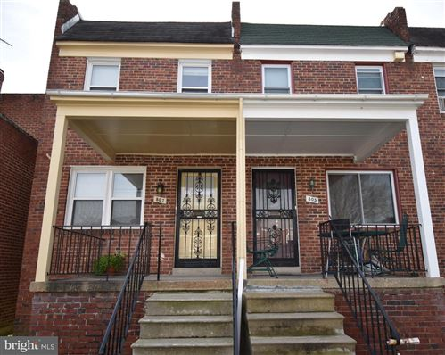 Photo of 807 DUMBARTON AVE, BALTIMORE, MD 21218 (MLS # MDBA2000166)