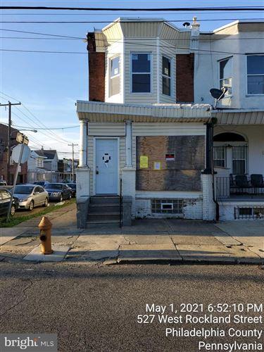 Photo of 527 W ROCKLAND ST, PHILADELPHIA, PA 19120 (MLS # PAPH1016192)