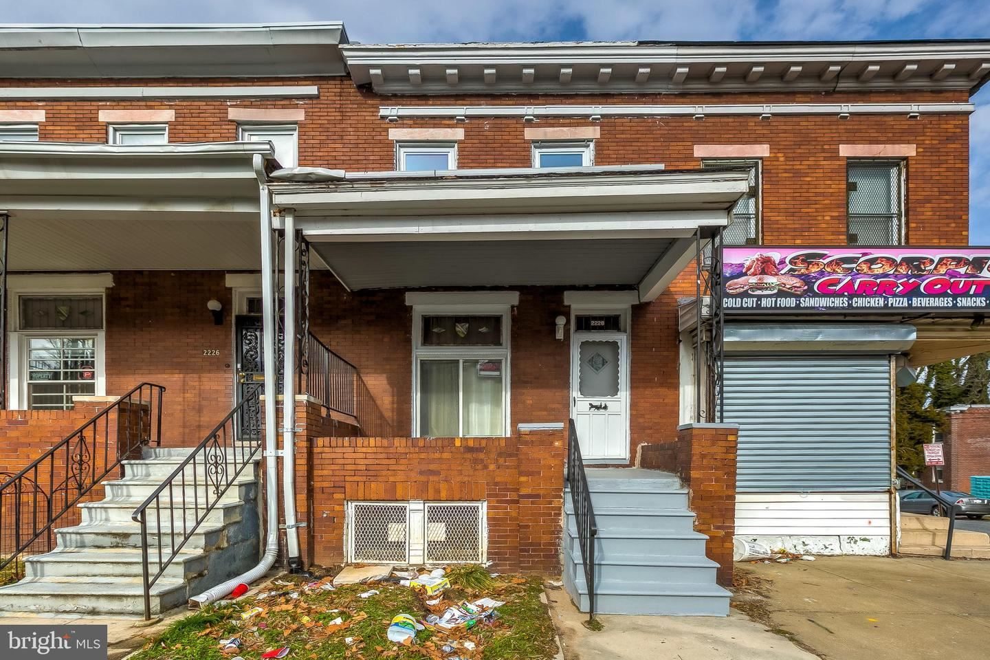 2228 AIKEN ST, Baltimore, MD 21218 - MLS#: MDBA538226