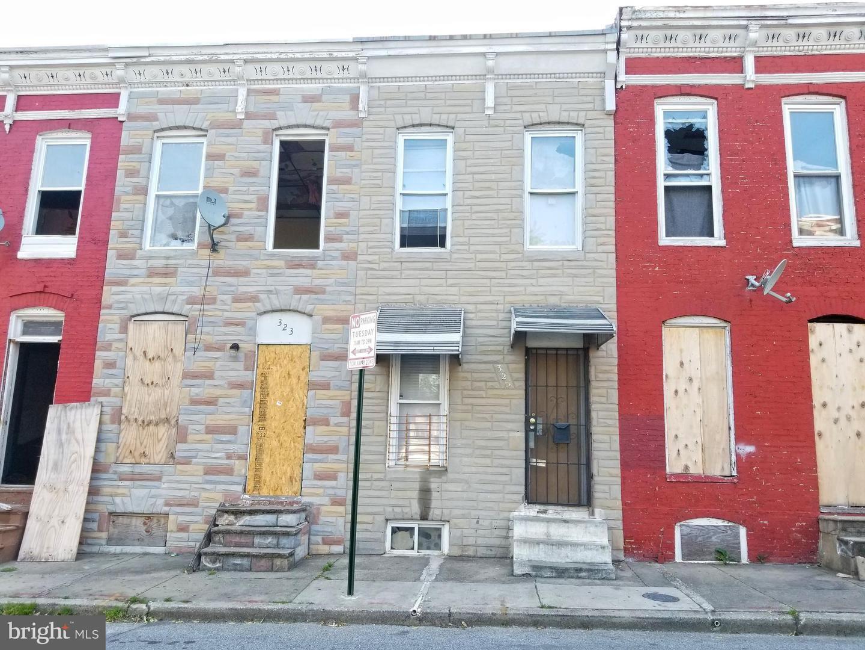 325 FURROW ST, Baltimore, MD 21223 - MLS#: MDBA550226
