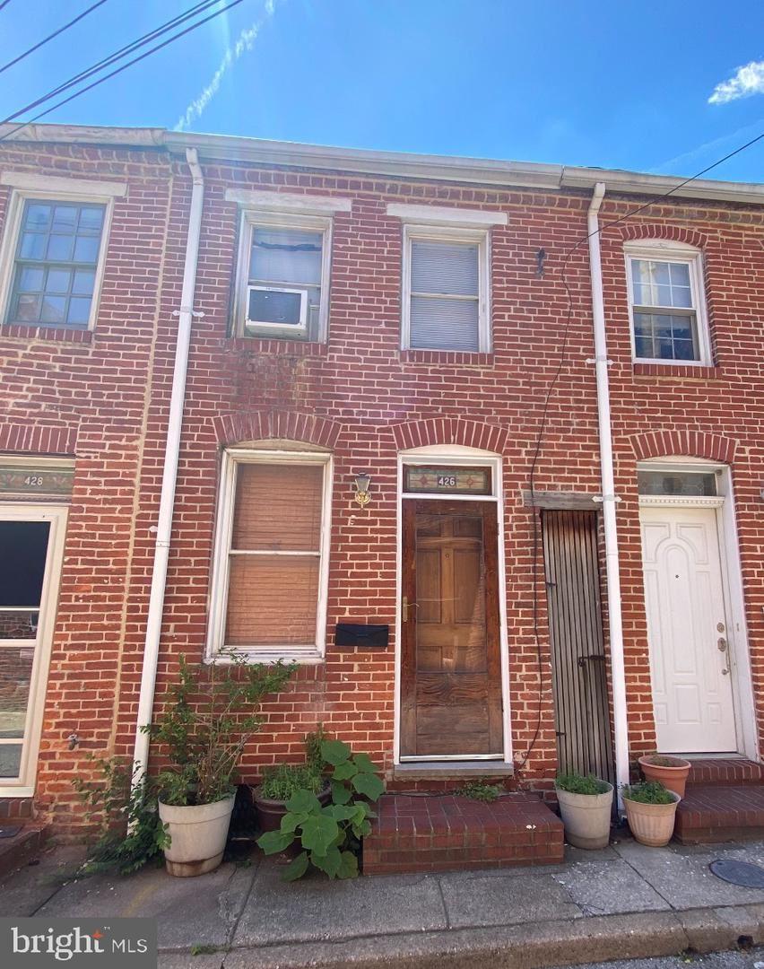 426 S CHAPEL ST, Baltimore, MD 21231 - MLS#: MDBA550230