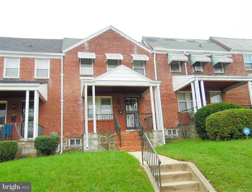 Photo of 814 N AUGUSTA AVE, BALTIMORE, MD 21229 (MLS # MDBA470232)