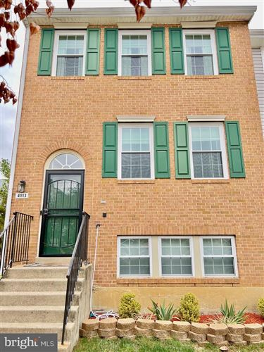 Photo of 4113 APPLE ORCHARD CT #2, SUITLAND, MD 20746 (MLS # MDPG2001235)