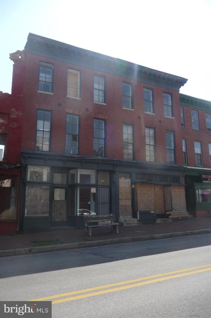 1527 W BALTIMORE ST, Baltimore, MD 21223 - MLS#: MDBA546252