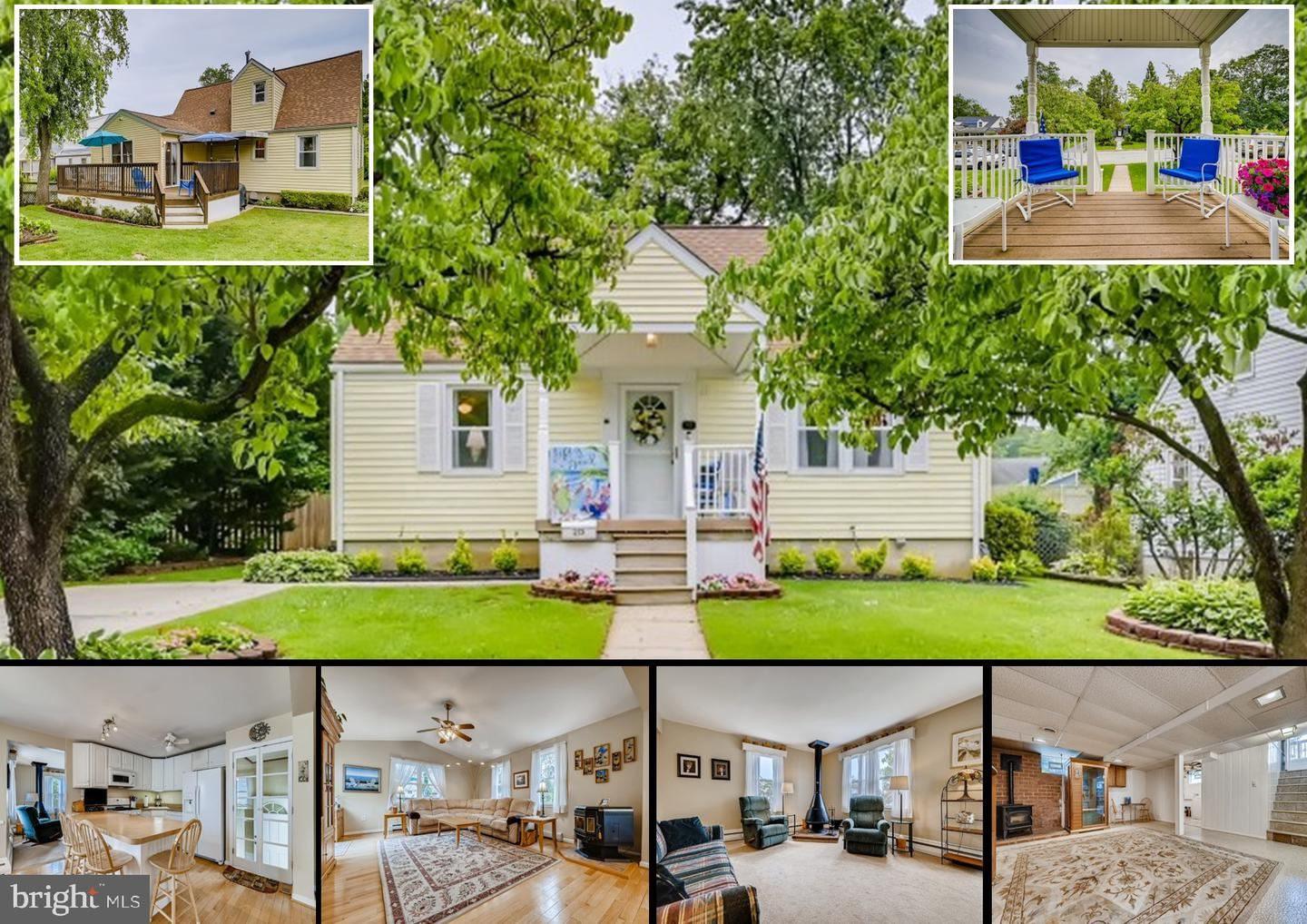 213 DIVISION AVE, Lutherville Timonium, MD 21093 - MLS#: MDBC2003284
