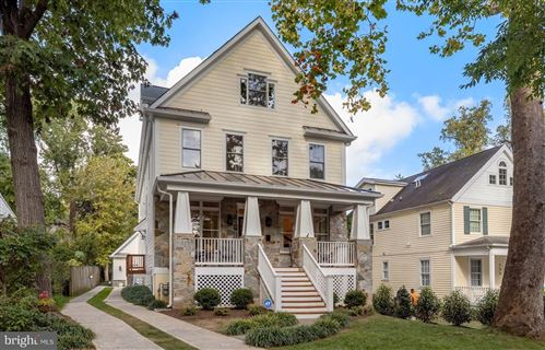 Photo of 153 QUINCY ST, CHEVY CHASE, MD 20815 (MLS # MDMC2000287)