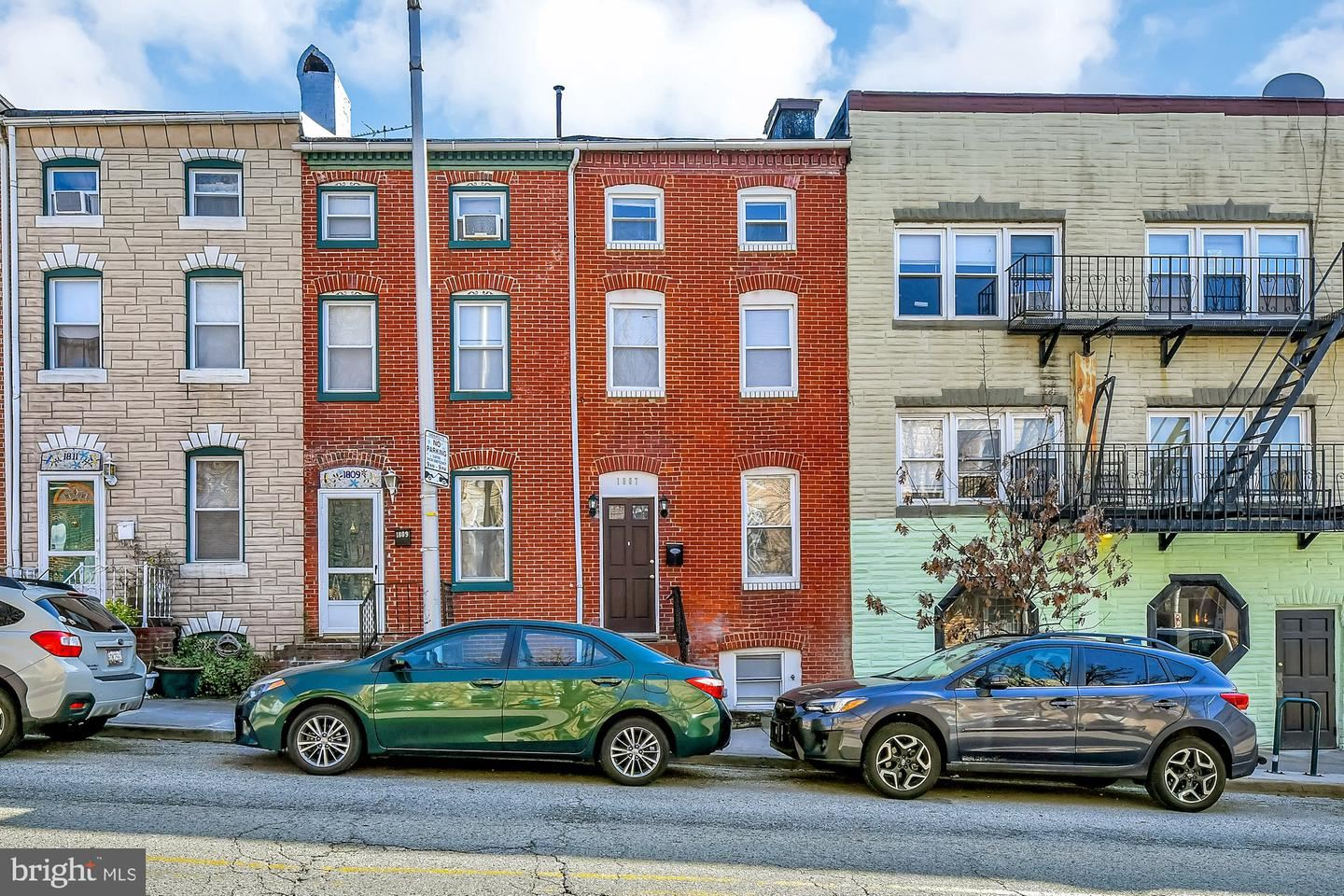 1807 E LOMBARD ST, Baltimore, MD 21231 - MLS#: MDBA542304