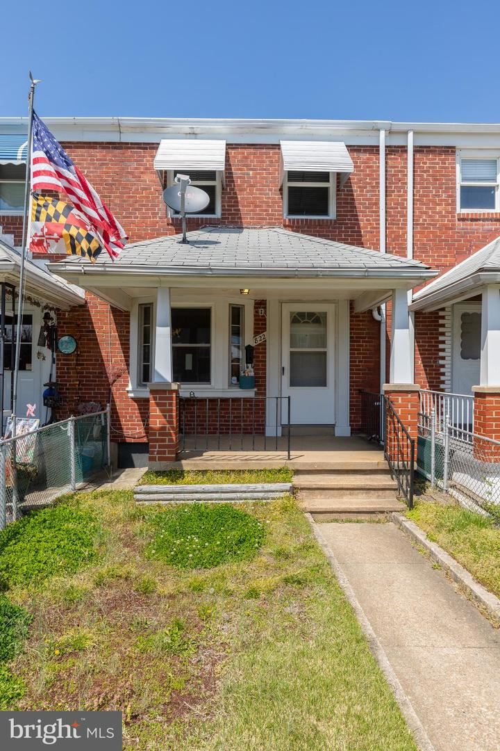 822 MIDDLESEX RD, Baltimore, MD 21221 - MLS#: MDBC526304