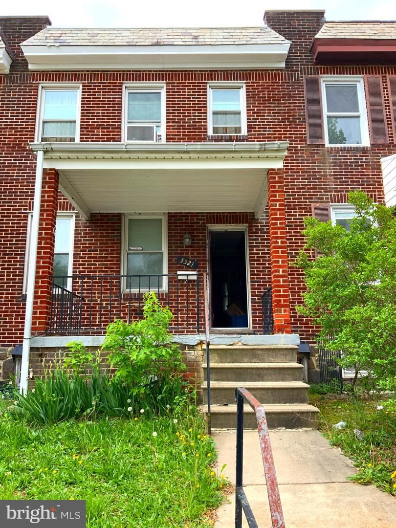 3521 CLIFTMONT AVE, Baltimore, MD 21213 - MLS#: MDBA550316