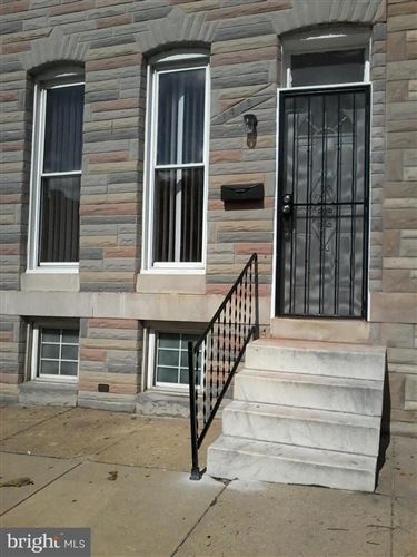 Photo of 1412 E LAFAYETTE AVE, BALTIMORE, MD 21213 (MLS # MDBA100340)