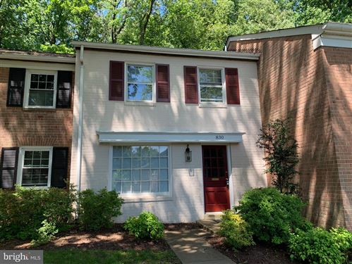 Photo of 830 AZALEA DR #18, ROCKVILLE, MD 20850 (MLS # MDMC713344)