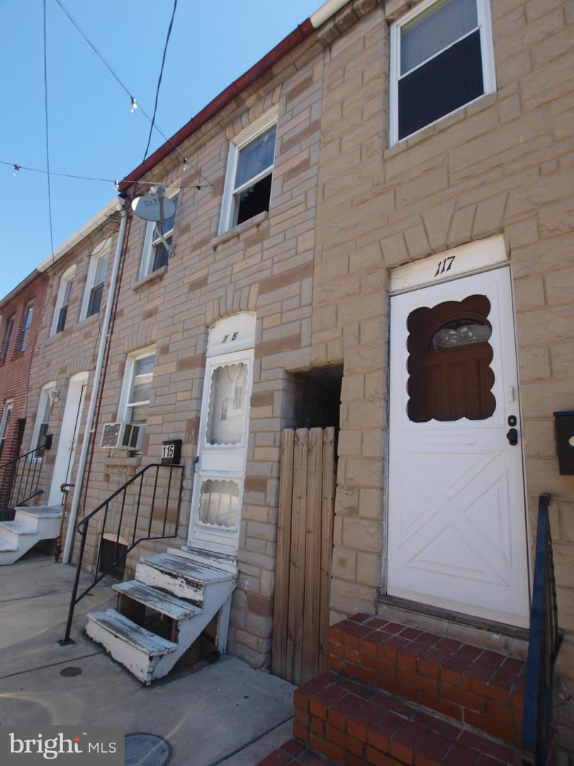 115 S DURHAM ST, Baltimore, MD 21231 - MLS#: MDBA548352