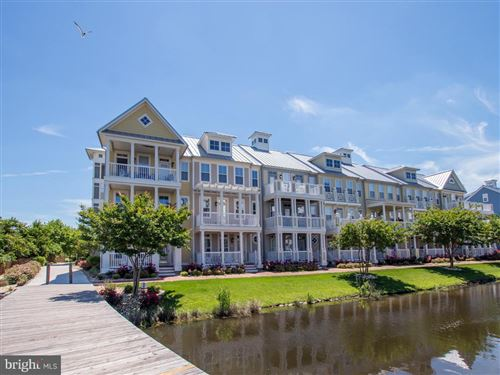 Photo of 39 CANAL SIDE MEWS E #BP39, OCEAN CITY, MD 21842 (MLS # MDWO117354)