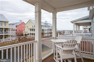 Tiny photo for 23 CANAL SIDE MEWS E, OCEAN CITY, MD 21842 (MLS # MDWO108384)