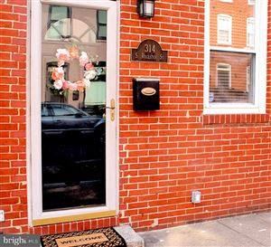 Photo of 314 S REGESTER ST, BALTIMORE, MD 21231 (MLS # MDBA480386)