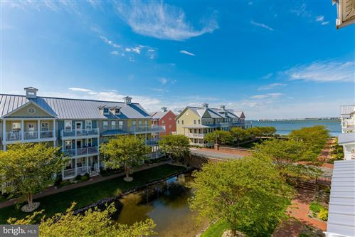 Photo of 21 CANAL SIDE MEWS E E, OCEAN CITY, MD 21842 (MLS # MDWO122400)