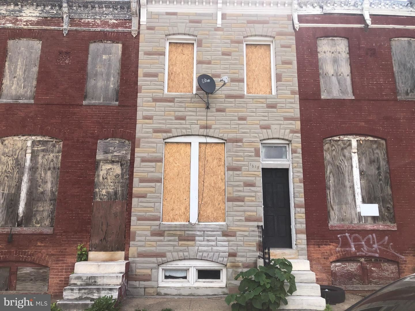 1615 N PATTERSON PARK AVE, Baltimore, MD 21213 - MLS#: MDBA548400