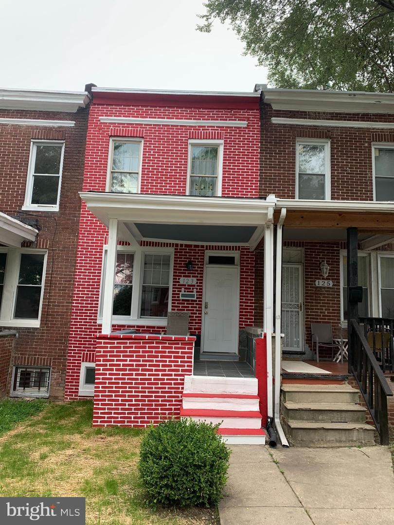 123 S HILTON ST, Baltimore, MD 21229 - MLS#: MDBA543414