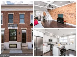 Photo of 1738 WEBSTER ST, BALTIMORE, MD 21230 (MLS # MDBA474436)
