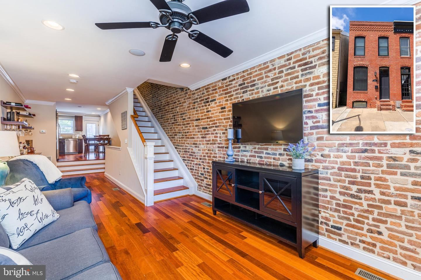 Photo of 710 S LUZERNE AVE, BALTIMORE, MD 21224 (MLS # MDBA524438)
