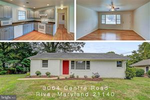 Photo of 3064 CENTRE RD, RIVA, MD 21140 (MLS # MDAA413456)
